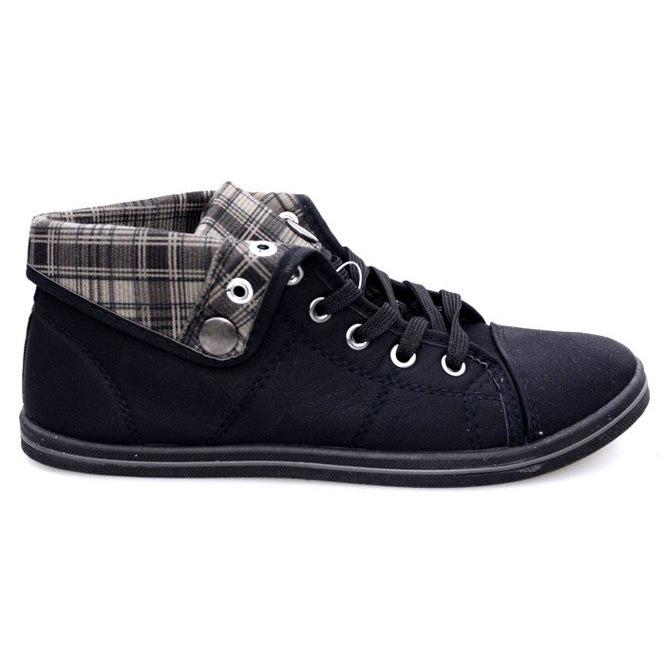 Høje Sneakers Konwers DD52 Sort