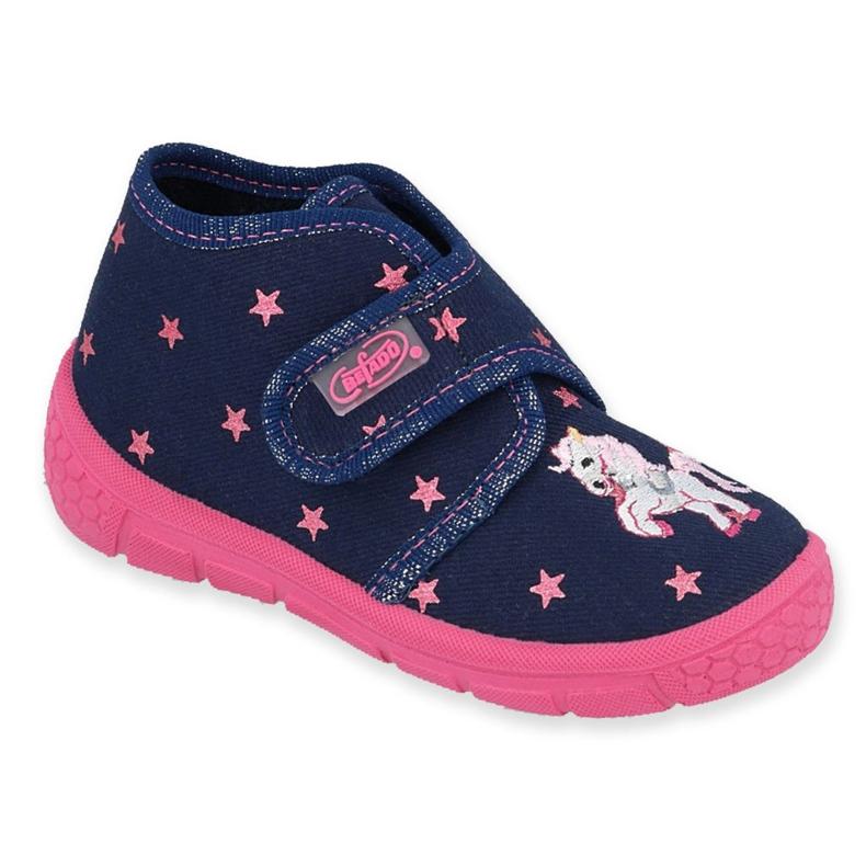 Befado børnesko 538P015 navy pink