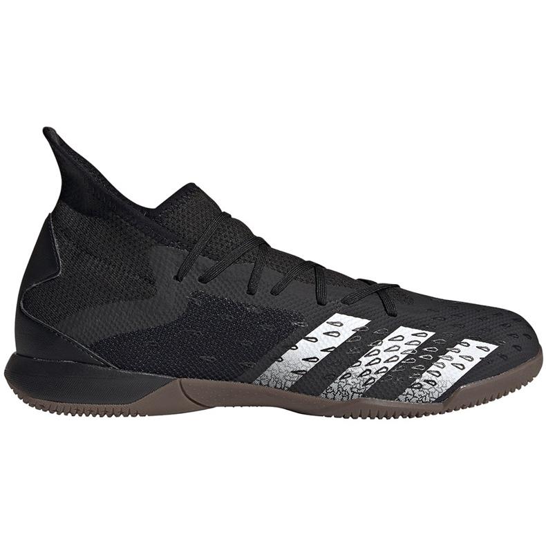 Adidas Predator Freak.3 i FY1032 fodboldstøvler sort sort