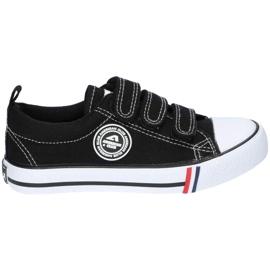 American Club Sort amerikansk LH33 / 21 velcro sneakers