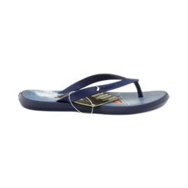 Navy blå flip flops børn sko flip-flops Rider 1307
