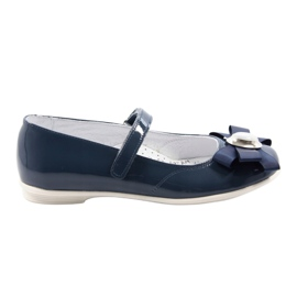 Ballerinas børnesko Bartek 45418 navy blue