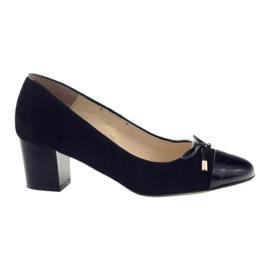 Pumper med en bue Sagan 2275 kvinders sko sort