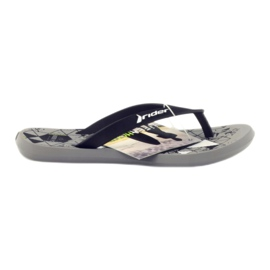 Sort flip-flops til vand Rider 81561
