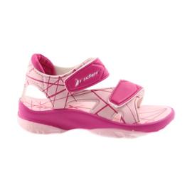 Pink sandaler børns velcro sko til vand Rider 488
