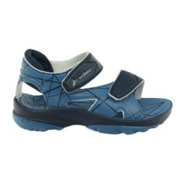 Blå sandaler børns velcro sko til vand Rider