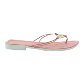 Via-Nova Kvinders flip flops Via Uno pink