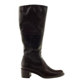 Brun damestøvler Anabelle 503
