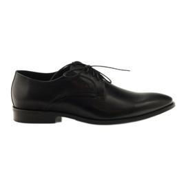 Herre klassiske sko Pilpol 1329 sort