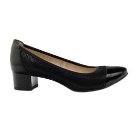 Sort Kvinders sko Gamis 1810 black