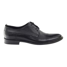 Badura klassiske sorte sko til mænd 7599