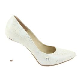 Espinto 456/96 kvinders sko hvid
