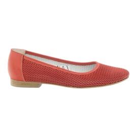 Ballerinas kvinder Angello mesh rød