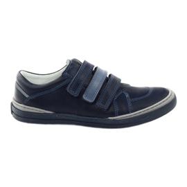 Drenge sko, velcro Bartuś, marineblå