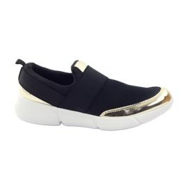 McKey Sport softshell sko i sort / guld