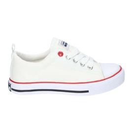 American Club Hvide amerikanske LH25 Knotede sneakers