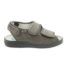 Sandaler til diabetikere Befado 676d006 grå