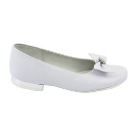 Græskar Communion ballerina hvid Miko