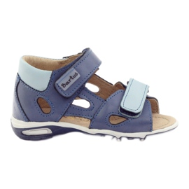 Drengens sandaler, rodfugle Bartuś blue