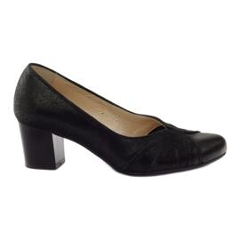 Kvinders sko Espinto tęg G1 / 2 black sort