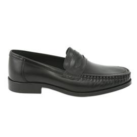 Pilpol Moccasins sko sort Pilbut 01