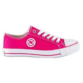 Pink New Age sneakers