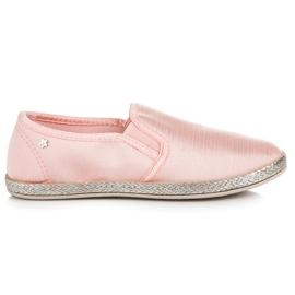 Balada pink Slip On Espadrilles