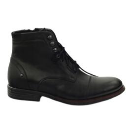 Vinter støvler med Pilpol 6009 lynlås sort
