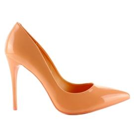 Appelsin Glat lakeret E396 Orange