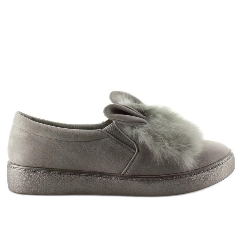Dejlige sneakers hunny bunny GU01 grå