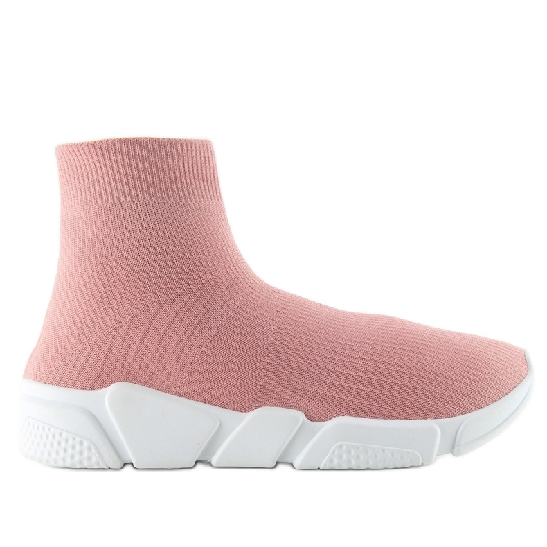NB122p lyserøde sokker sneakers pink