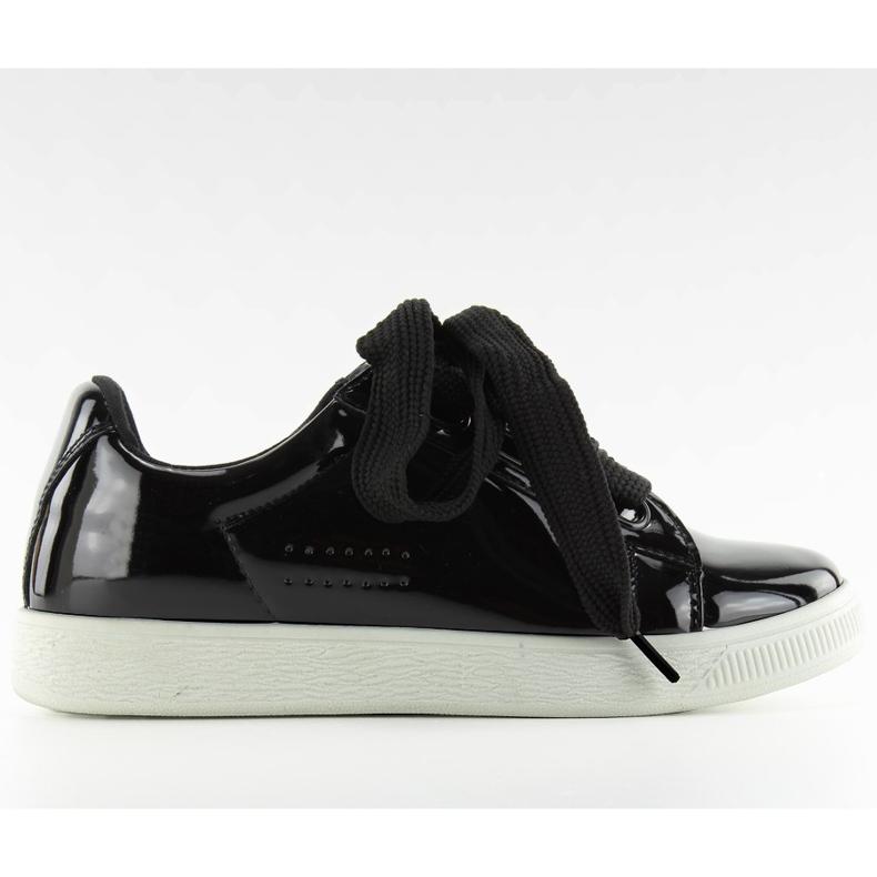Hvide sneakers zy-7a733 sort