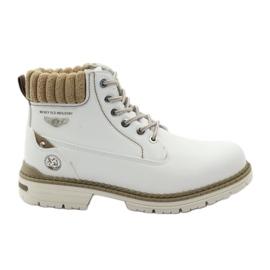 McKey hvid Vinter støvler snoet 400