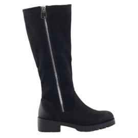 Sergio Leone damestøvler 0908 sort