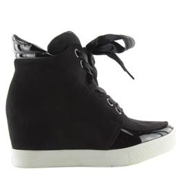 Sort kvinders sneakers AF-79 sort