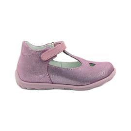 Ren But pink Ren sko 1467 heather ballerinas