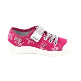 Pigens sneakers-hjemmesko med stjerner Befado