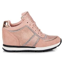 Vices Bundne sneakers pink