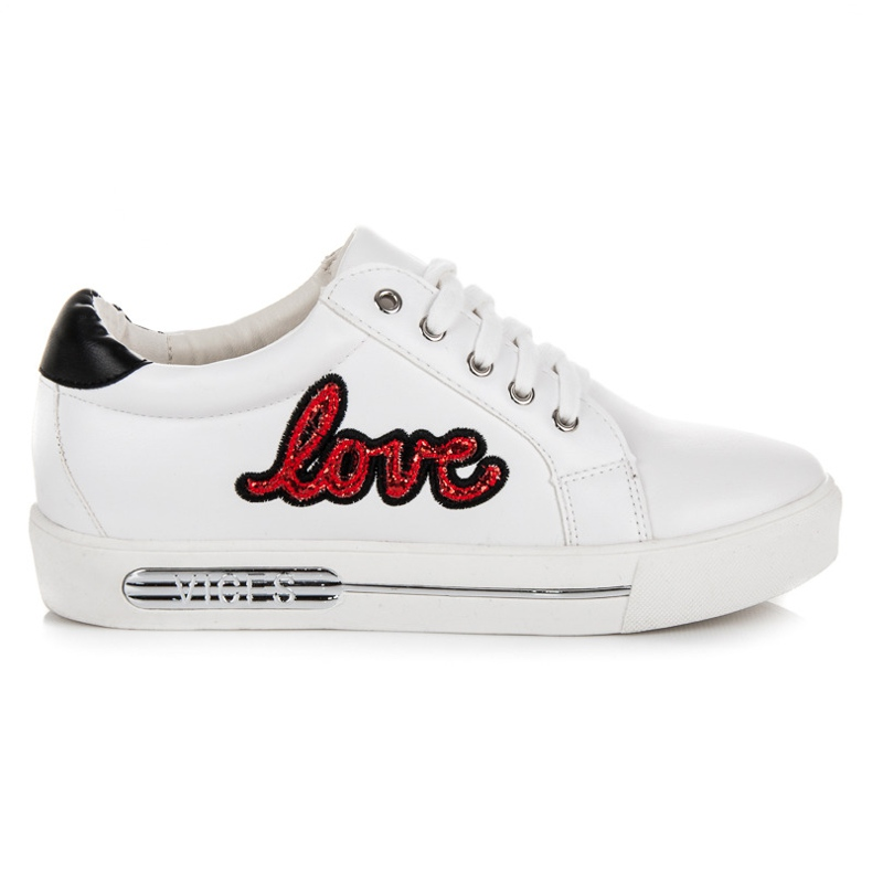 Vices Lace-up Love Sneakers