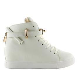 Sneakers med hængelås Białw 1818 Hvid