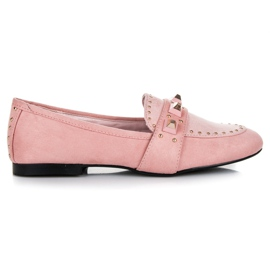Vices pink Suede loafers