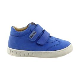 Blå Drenge sko til Velcro Bartuś