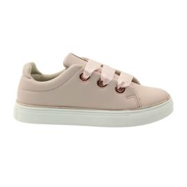 American Club Satin sneakers American blonde 17152 pink