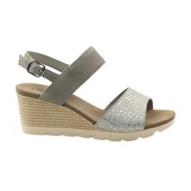 Caprice sandaler kvinders sko 28701 grå