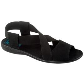 Sort Adanex 17498 kvinders sko