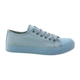 Blå Mckey 233 sneakers