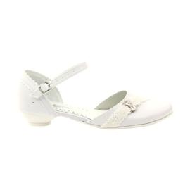 Courtesy ballerinas Communion Miko 714 hvid