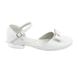 Courtesy ballerinas Communion Miko 671 hvid