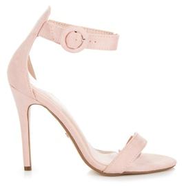 Seastar pink Sandaler fastgjort med en spænde
