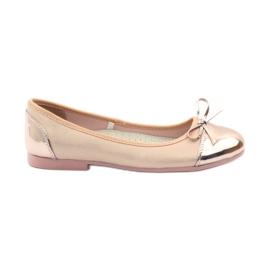 American Club Ballerinas sko med en amerikansk bue